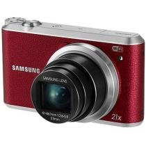 "C��mera Digital Samsung WB350F 16.3MP - LCD 3"" Touch Zoom ��ptico 21x Panor��mica Cart��o 8GB"