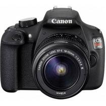 "C��mera Digital SemiProfissional Canon EOS Rebel T5 - 18-55 III 18MP LCD 3"" Zoom ��ptico 3x Filma Full HD"