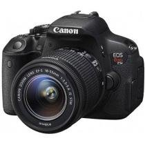 "C��mera Digital SemiProfissional Canon EOS Rebel - T5i 18-55 18MP LCD 3"" Zoom ��ptico 3x Filma Full HD"