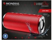 Caixa de Som Bluetooth Portátil Mondial - Vibe One Speaker 20W MP3 com Entrada SD
