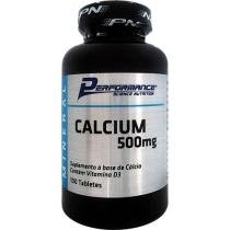 Calcium 500mg 100 Tabletes - Performance Nutrition