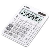 Calculadora de Mesa Casio 12 Dígitos - Colorful MS-20NC Branca