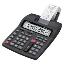 Calculadora de Mesa Casio com Bobina 12 Dígitos - Printer HR-150TM Preta