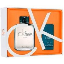 Calvin Klein Coffret Perfume Masculino - CK Free for Men Edt 100ml + Desodorante 75g