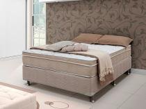 Cama Box (Box + Colchão) Casal Mola Pocket - 138x188cm - Ortobom Exclusive Passion