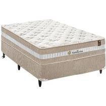 Cama Box Casal + (Box + Colchão) King Koil Mola - Pocket 72cm de Altura Satisfaction