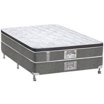 Cama Box Casal Mola Pocket 138x188cm - Castor Silver Star 3D Híbrido One face