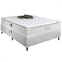 Cama Box + Colcho Casal Mola 138x188cm