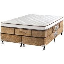 Cama Box Queen Size Mola Pocket 158x198cm - Castor Eurotop Supreme