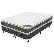 Cama Box Queen Size Mola Pocket 158x198cm - Castor Gold Star Super Luxo
