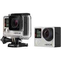"Câmera Digital GoPro Hero 4 12MP Aquática - Visor 1,5"" Touch Wi-Fi Bluetooth"