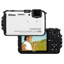 Cmera Digital Nikon Coolpix AW100 16MP LCD 3&#34;