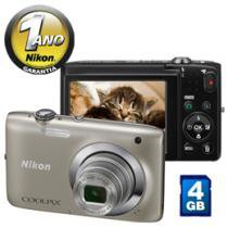Cmera Digital Nikon Coolpix S2600 14MP LCD 2,7