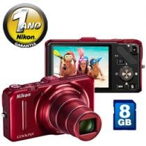 Cmera Digital Nikon Coolpix S9300 16.1MP LCD 3&#34;