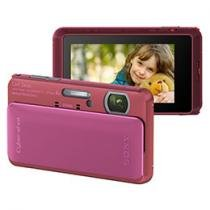 Câmera Digital Sony Cyber-Shot TX20 Rosa 16.2MP