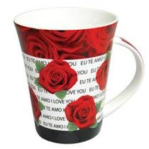 Caneca de Porcelana I Love You 350 ml