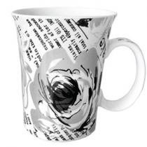 Caneca de Porcelana Poetry 350 ml