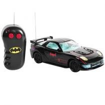 Carrinho de Controle Remoto Batman Candide - 3 Funções Alcance 10 à 20 Metros