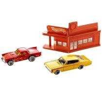 Carrinho Diner Race Hot Wheels Racing Kits