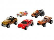 Carrinho Hot Wheels 1806 Mattel - com 5 Peças