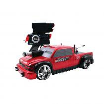 Carro Controle Remoto Battle Machines Red Chevy Doodley - Candide - Candide