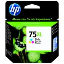 Cartucho de Tinta Preto Tricolor 12 ml - HP CB338WB
