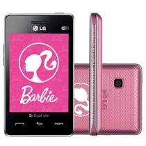 Celular Dual Chip LG T375 Barbie Desbloq. Claro