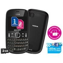 Celular Dual Chip Nokia ASHA 200 Cmera 2MP