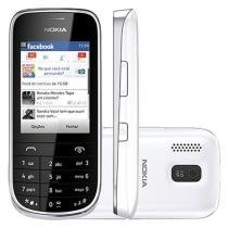 Celular Dual Chip Nokia Asha 202 Desbloqueado Vivo - Câmera 2MP Bluetooth 2.1 MP3 Player e Rádio FM