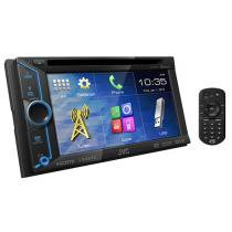 Central Multimídia JVC KW-V31BT Tela 6,1 Touch - Entrada de Câmera de Ré e USB Bluetooth