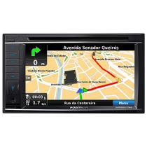 Central Multimídia Pósitron SP8920NAV Tela 6,2 - Double Din Bluetooth e USB