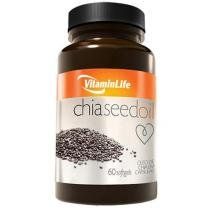 Chia Seed Oil 60 Softgels - Vitaminlife