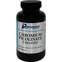Chromium Picolinate Chelated - 100 Tabletes - Performance Nutrition