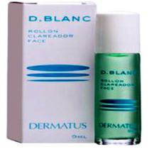 Clareador Facial D-Blanc Roll On 9ml - Dermatus