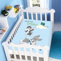 Cobertor de Bebê Looney Tunes Baby Happy Days - Jolitex -