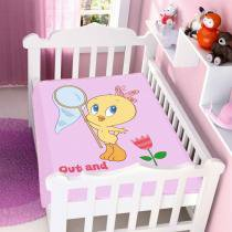 Cobertor de Bebê Looney Tunes Baby Out And About - Jolitex -