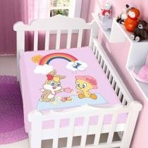 Cobertor de Bebê Looney Tunes Baby The Sweet Life - Jolitex -