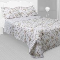 Colcha Matelass King Size Melina 180 Fios 3 Peas