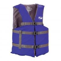 Colete Salva-Vidas Boating Adulto Azul - Coleman -