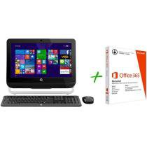 Computador All In One HP 18-5200br com AMD E1 - 4GB 500GB + Pacote Aplicativo Office 365 Personal
