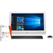 """Computador All in One HP 20-e001br Intel Dual Core - 2GB 500GB LED 19,45"""" + Pacote Office 365"""