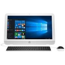 "Computador All in One HP 20-e003br Intel Dual Core - 4GB 500GB LED 19,45"" Função TV Windows 10"