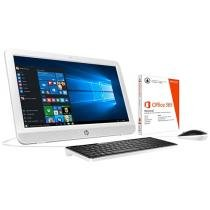 "Computador All in One HP 20-e003br Intel Dual Core - 4GB 500GB LED 19,45"" + Pacote Office 365 Personal"