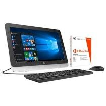 """Computador All in One HP 22-3100br Intel Core i3 - 4GB 500GB LED 21,5"""" Windows 10 + Pacote Office 365"""