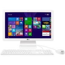 "Computador All In One LG 22V240 Intel Quad Core - Windows 10 4GB 500GB LCD 21,5"" Full HD Bluetooth"