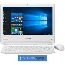 "Computador All in One Positivo Union UD3520 - Intel Dual Core 2GB 500GB LED 18,5"" Windows 10"