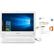 Computador All in One Positivo Union UD3531 - Intel Dual Core 4GB 32GB + Microsoft Office 365