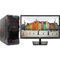 Computador Braview i302-1 Intel Core i3 8GB 1TB - Placa de Vídeo Dedicada + Monitor LG LED 19,5""