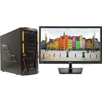 "Computador Braview I500-2 Intel Core i5 - 8GB 1TB Linux + Monitor LG LED 19,5"" Widescreen"