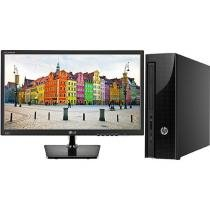 Computador HP 200 G1 Slim Tower Intel Celeron - 4GB 500GB Windows 10 + Monitor LG LED 19,5""